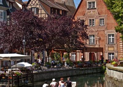 Le centre-ville de Colmar