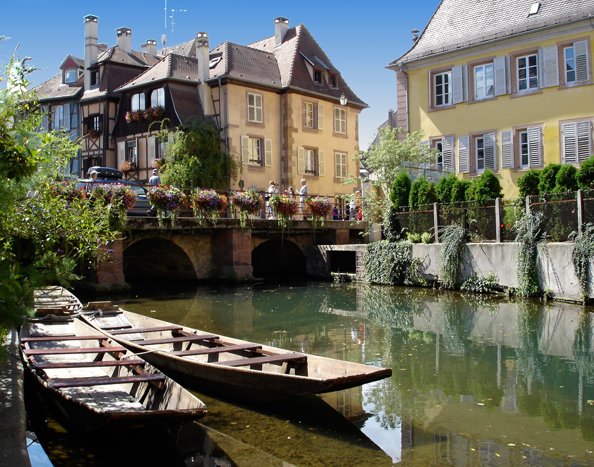 how to get to colmar france