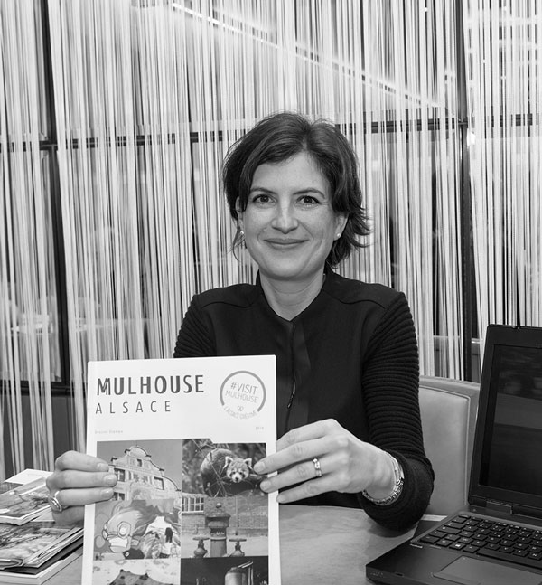 Marie Garcin-Zaiter :  Mulhouse et le tourisme d'affaires