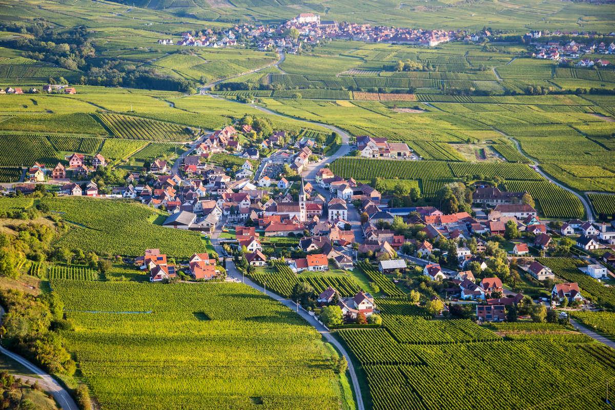 Rohrschwihr sur la Route des Vins d'Alsace