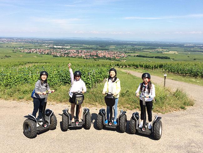 Balade en segway - Vignoble Alsace