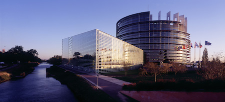 where did the european parliament meet